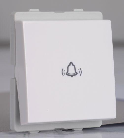 10A_2_Module_Bell_Push_White