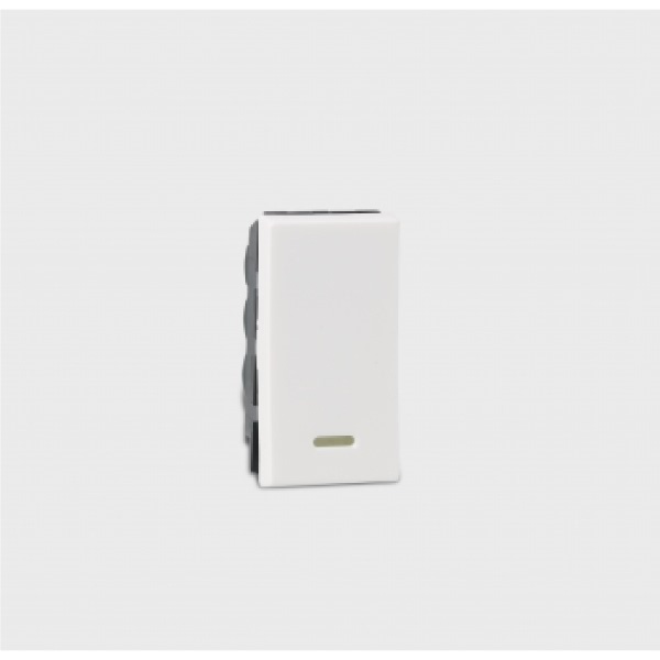 Legrand_Arteor_1_way_switch_with_ndicator_middle_module_Red_LED_supplied_6_AX_230_V_1_module_White